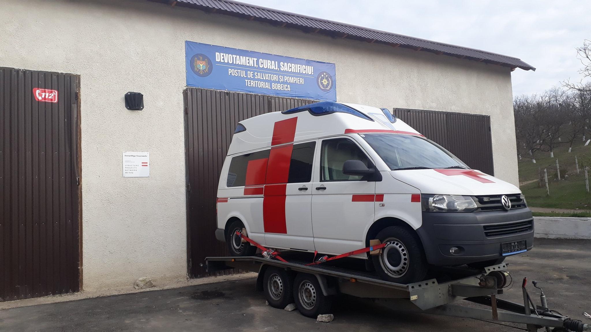opțiuni de ambulanță